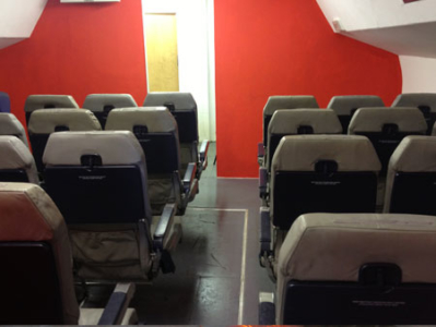 internal aircraft training systems