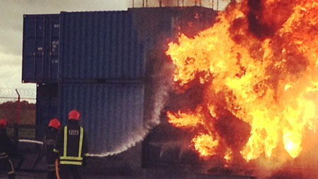structural fire training simulators