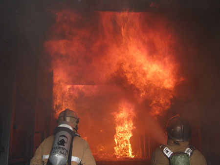 Live fire behaviour training